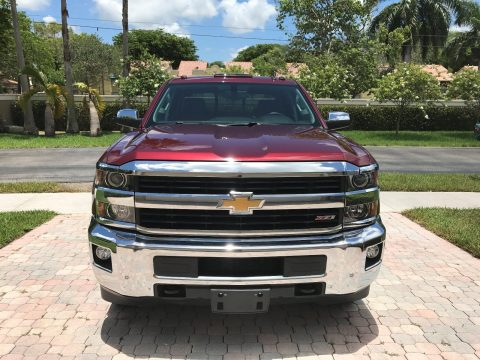 Perfect for towing 2015 Chevrolet Silverado 2500 LTZ pickup for sale
