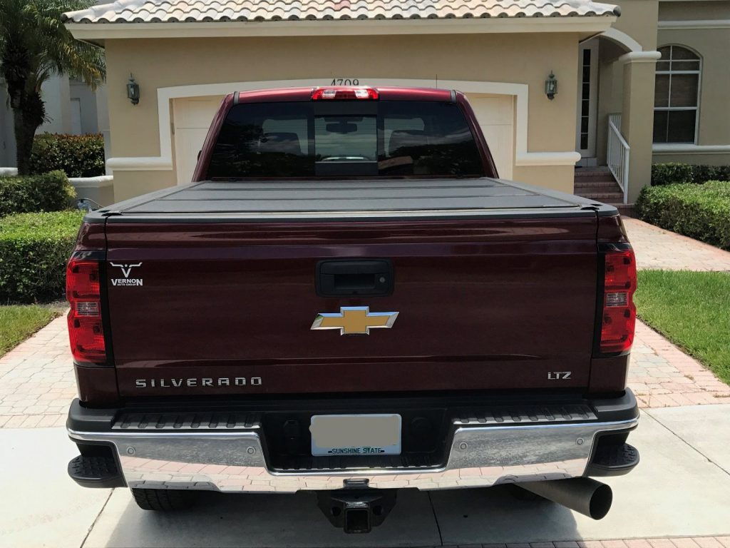 Perfect for towing 2015 Chevrolet Silverado 2500 LTZ pickup