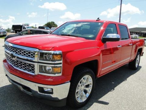 Repaired 2015 Chevrolet Silverado 1500 LTZ pickup for sale