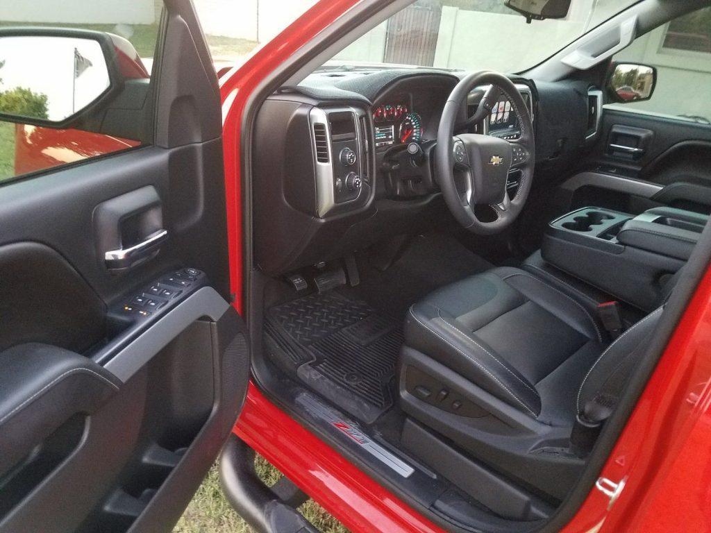 Special edition 2016 Chevrolet Silverado 1500 LT pickup ...