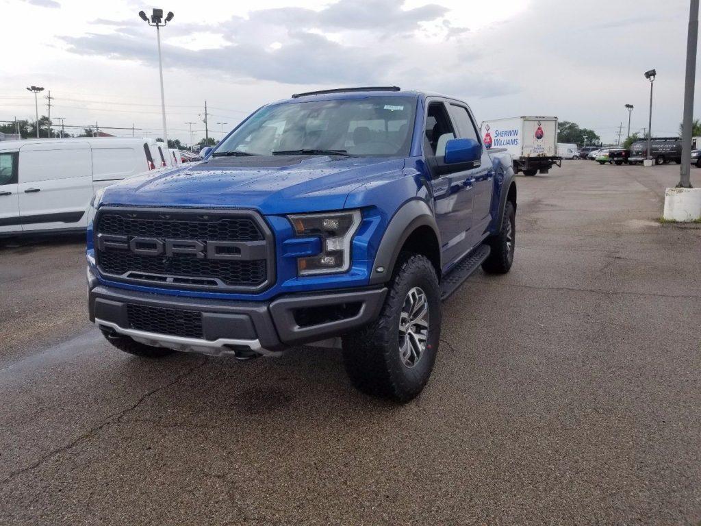 Ford Trailer Backup Assist >> fresh 2018 Ford F 150 RAPTOR pickup for sale