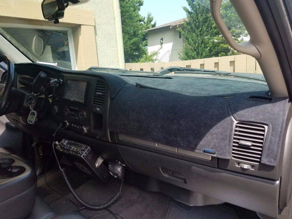 fully loaded 2013 Chevrolet Silverado 2500 LT Extended Cab pickup