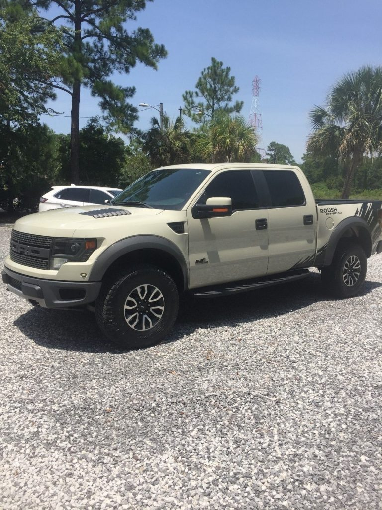 like new 2013 Ford F 150 Roush RAPTOR pickup
