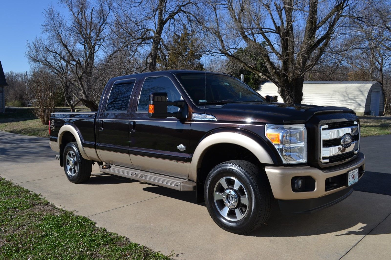 original condition 2013 ford f 250 king ranch pickup for sale. Black Bedroom Furniture Sets. Home Design Ideas