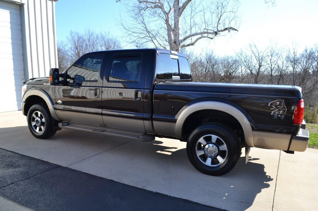 original condition 2013 Ford F 250 King Ranch pickup