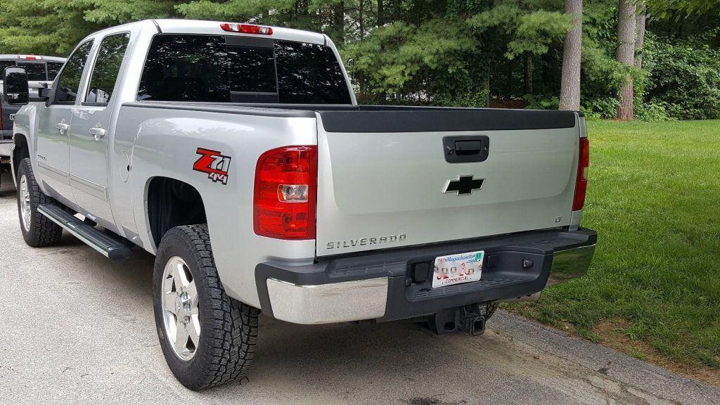 well serviced 2013 chevrolet silverado 2500 pickup for sale. Black Bedroom Furniture Sets. Home Design Ideas