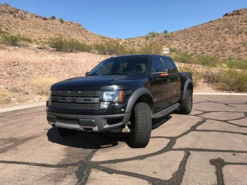 all features 2012 Ford F 150 Raptor pickup for sale