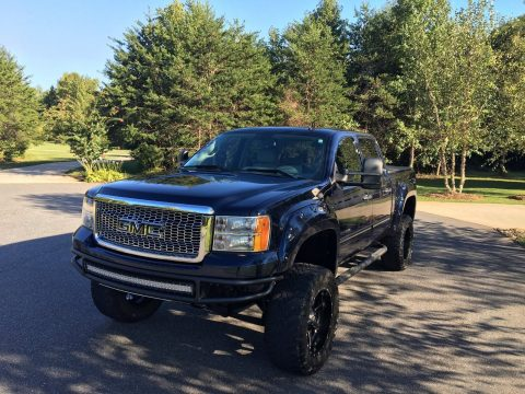 blacked out 2012 GMC Sierra 1500 pickup for sale