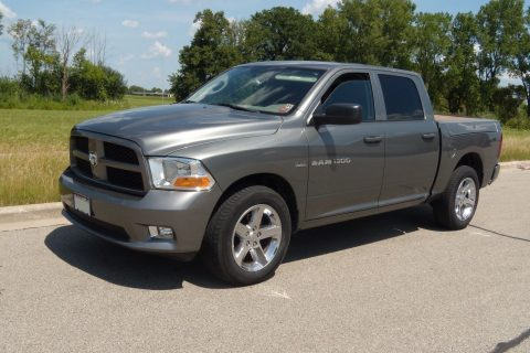 Hemi powered 2012 Ram 1500 Quad Cab pickup for sale