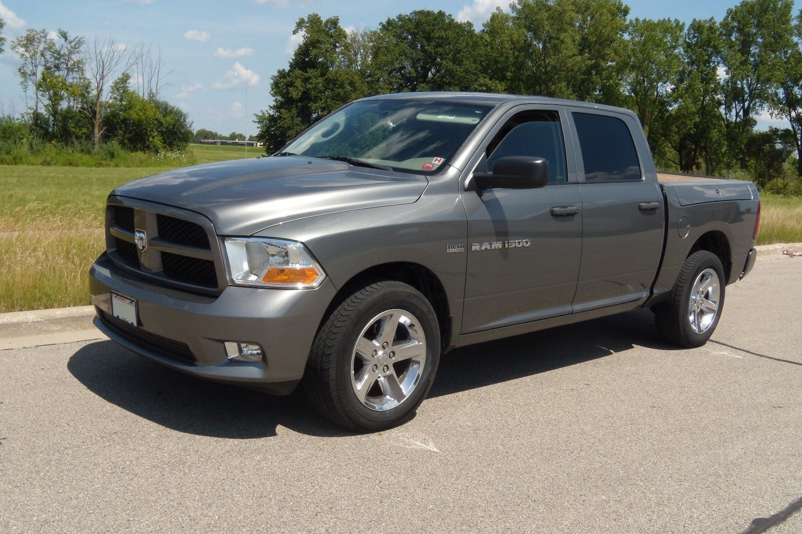 hemi powered 2012 ram 1500 quad cab pickup for sale. Black Bedroom Furniture Sets. Home Design Ideas