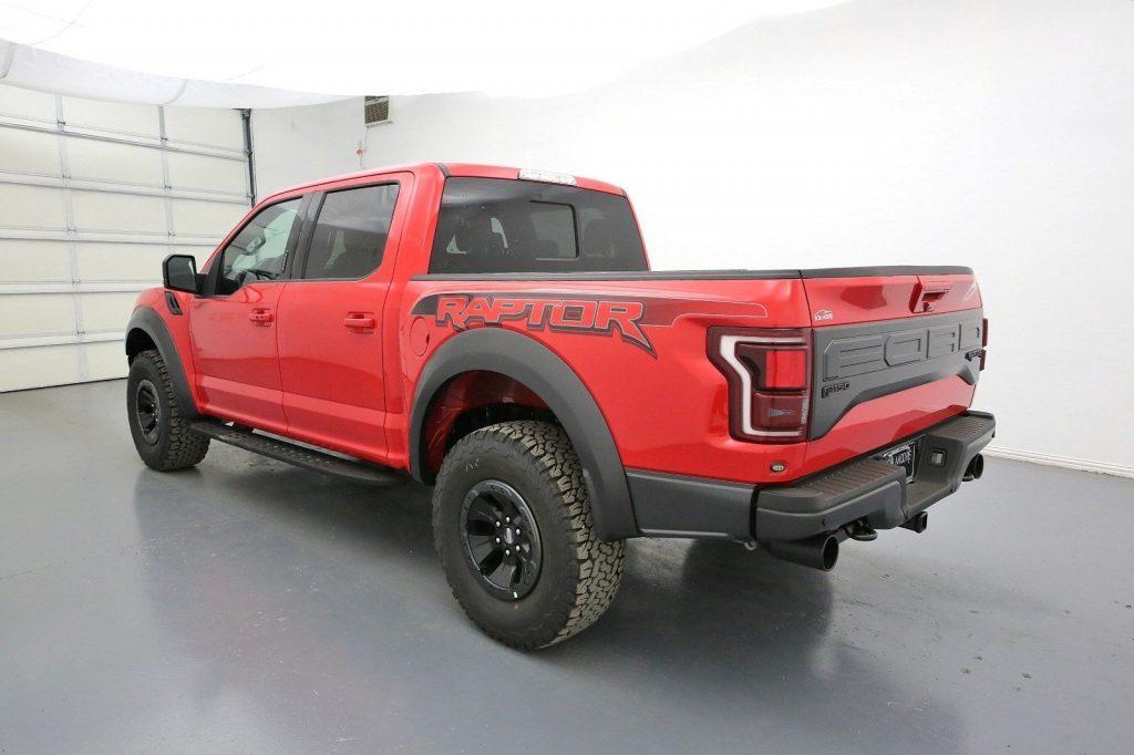 loads of equipment 2018 ford f 150 raptor pickup for sale. Black Bedroom Furniture Sets. Home Design Ideas