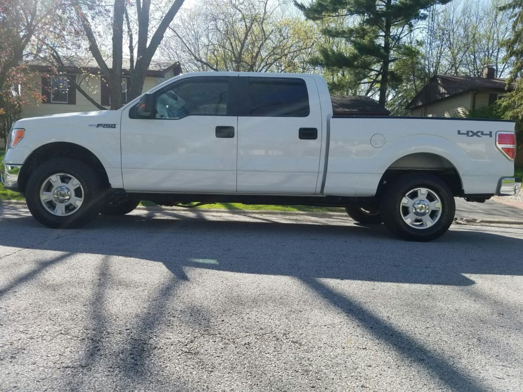 new tires 2012 Ford F 150 PT pickup