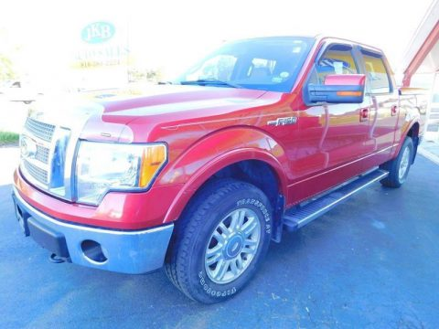 awesomely loaded 2010 Ford F 150 Lariat 4×4 Supercrew Styleside pickup for sale