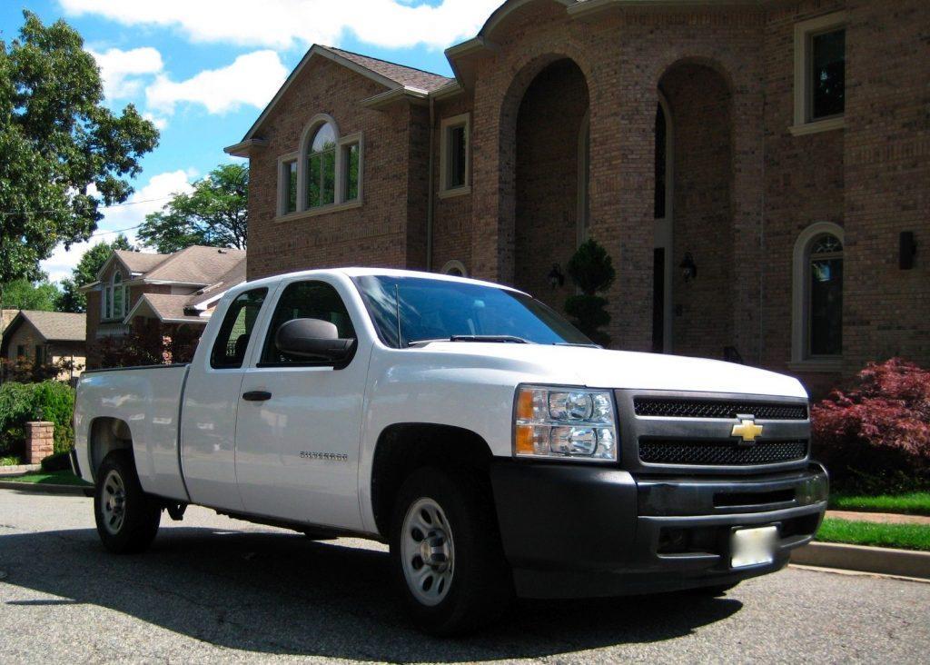 clean 2011 chevrolet silverado 1500 wt pickup for sale. Black Bedroom Furniture Sets. Home Design Ideas