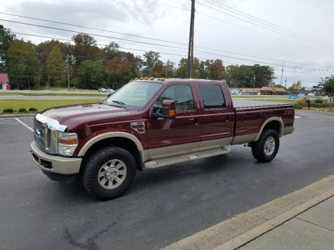 fully loaded 2010 Ford F 350 King Ranch Lariat FX4 pickup for sale