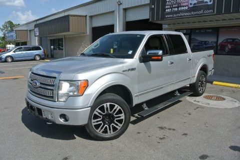 loaded 2010 Ford F 150 4WD Supercrew 145 Platinum pickup for sale