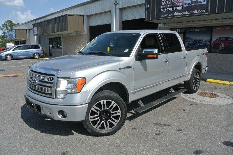 loaded 2010 Ford F 150 4WD Supercrew 145 Platinum pickup
