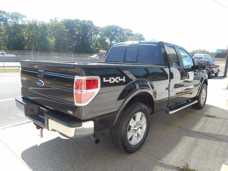 loaded 2010 Ford F 150 Lariat 4×4 Supercab Styleside pickup