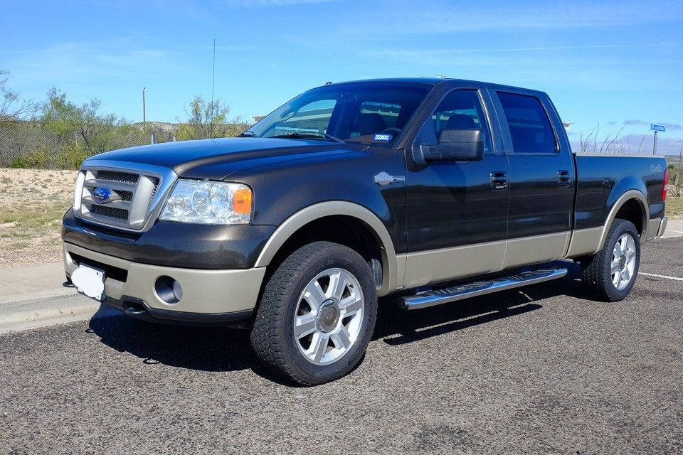 great condition 2008 Ford F 150 King Ranch Crew Cab 6.5′ Bed 4×4 pickup