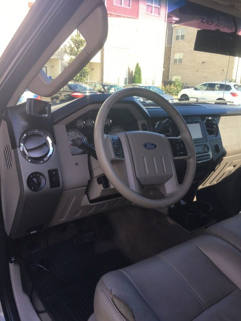 heavily upgraded 2008 Ford F 350 Lariat pickup