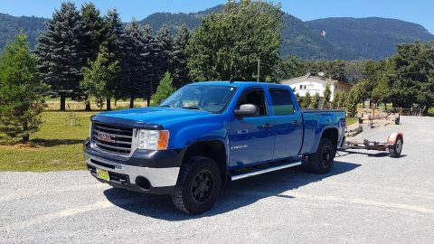 new fluids 2009 GMC Sierra 2500 SLE pickup for sale