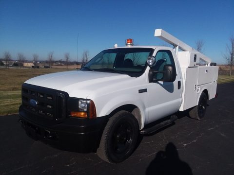 reliable worker 2007 Ford F 350 XL Super Duty Utility Service Truck pickup for sale