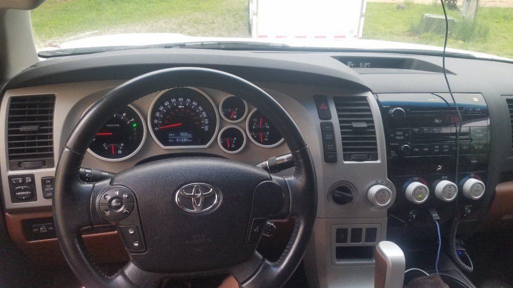 Supercharged 2007 Toyota Tundra pickup