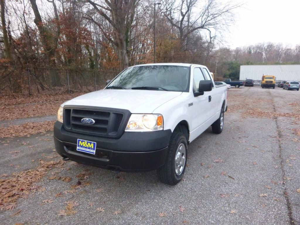 well maintained 2007 Ford F 150 pickup