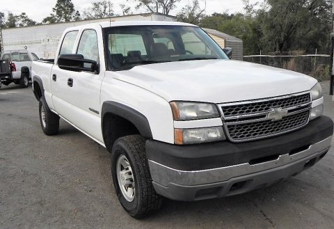 low miles 2005 Chevrolet Silverado 2500 HD pickup for sale