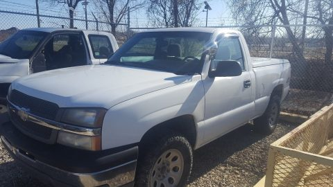 pretty solid 2005 Chevrolet Silverado 1500 pickup for sale