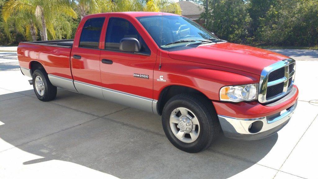 clean 2003 Dodge Ram 2500 Quad cab pickup
