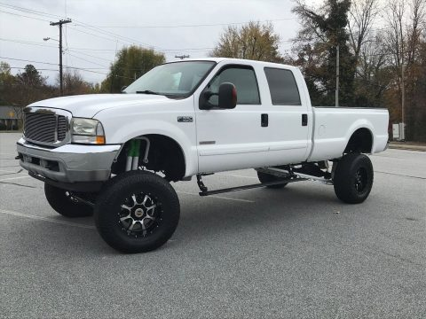 lifted 2003 Ford F 350 XLT pickup for sale