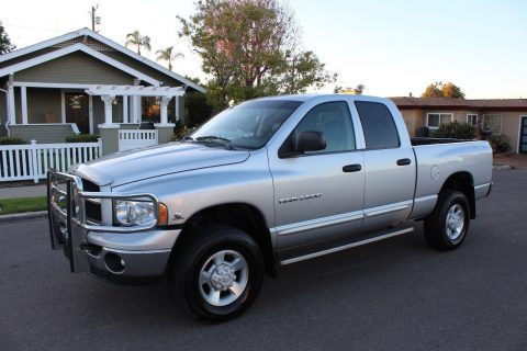 manual trans 2003 Dodge Ram 2500 Laramie Edition pickup for sale