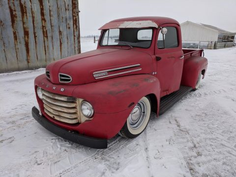 natural patina 1950 Ford Pickup for sale