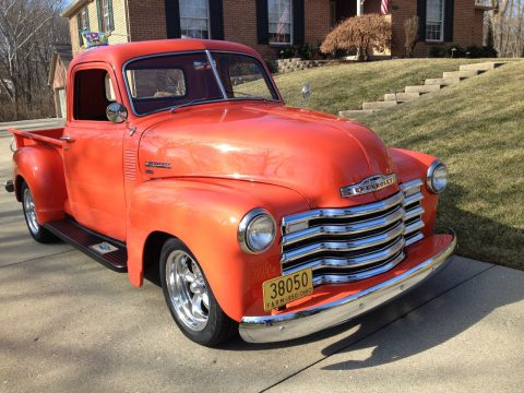 newer engine 1950 Chevrolet pickup for sale