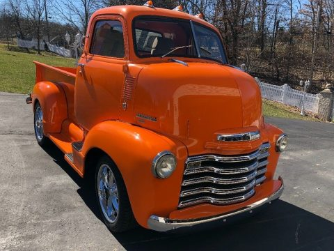 small block 1950 Chevrolet COE pickup for sale