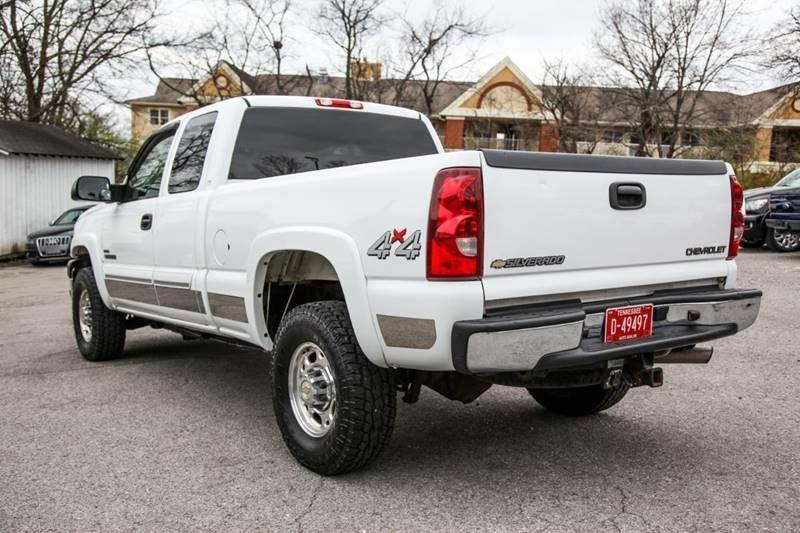 Very Clean 2003 Chevrolet Silverado 2500 Pickup For Sale