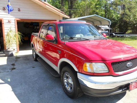 well maintained 2003 Ford F 150 Lariat pickup for sale
