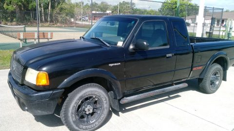 extended cab 2002 Ford Ranger Edge pickup for sale