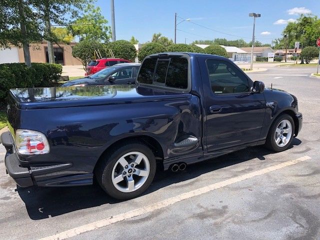 low miles 2002 Ford F 150 Lightning pickup