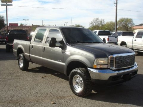 nice and clean 2002 Ford F 250 XLT pickup for sale