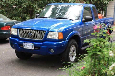 well maintained 2002 Ford Ranger XL Edge pickup for sale