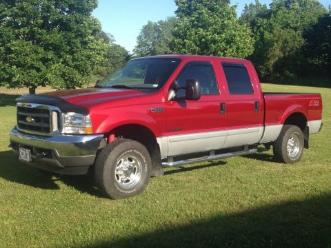 Always garaged 2003 Ford F 250 Lariat pickup for sale
