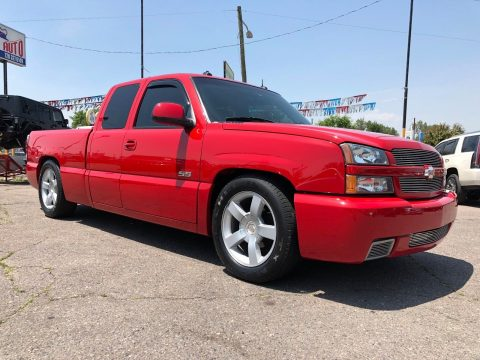 rare 2003 Chevrolet Silverado 1500 SS pickup for sale