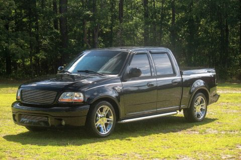 supercharged 2003 Ford F 150 100th Anniversary Harley Davidson Edition pickup for sale