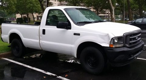 decent mileage 2004 Ford F 350 XL Super duty pickup for sale