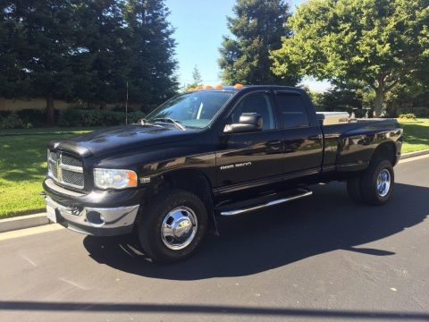 loaded and low miles 2003 Dodge Ram 3500 Laramie pickup for sale