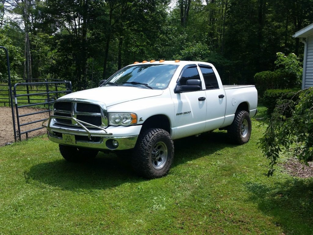 well serviced, new parts 2003 Dodge Ram 2500 pickup