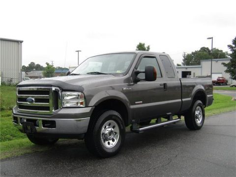 decent mileage 2005 Ford F 250 Super Duty XLT pickup for sale