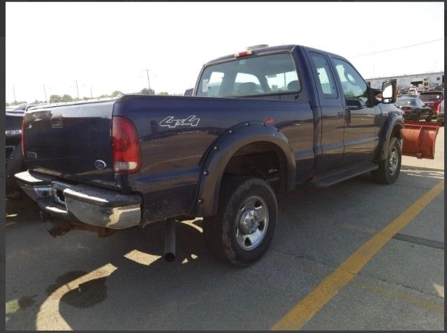 great work truck 2005 Ford F 250 XLT Supercab Long Bed pickup